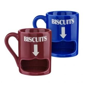 Biscuit holder mug
